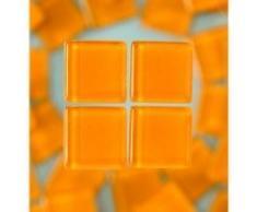 MosaixSoft 10Â x 10Â x 4Â mm 200Â g 215-piece Glas Fliesen, orange