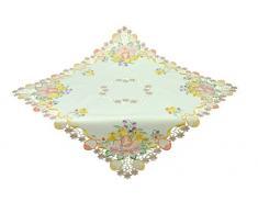 Bellanda 2861-85x85 eckig Tischdecken Polyester, 85 x 85 x 0,50 cm, beige