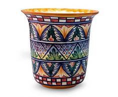 NOVICA 458.185,5 cm World of Nature Keramik Blumentopf