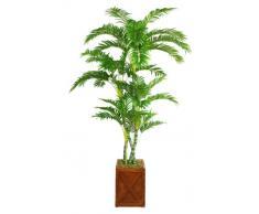 Laura Ashley vhx112207 205,7 cm hoch in 33 cm Fiberstone Blumentopf Palme Baum