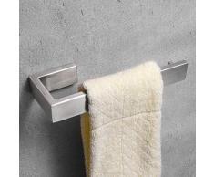 Nolimas SUS 304 Edelstahl Handtuch Bar WC Papier Halter Badezimmer Accessoires, Handtuch Bar Halter Rack für Bad Küche Garage Schwere Pflicht Wand montiert, gebürstet Towel Ring