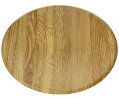 Continenta Oak Wood 4132Â Eiche Holz Schale, Licht Braun, hellbraun