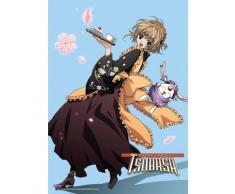Great Eastern Entertainment Tsubasa Sakura und Mokona Wall Scroll, 33 von Blumenkasten