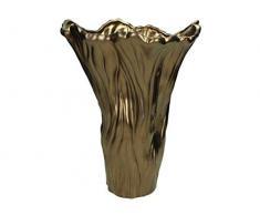 Blumentopf Feines Steingut - Bronze