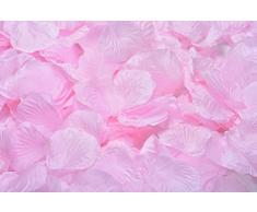 Lothringen Hochzeit Tisch Dekoration Seide Rosenblätter Blumen Konfetti babyrosa