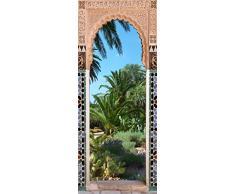 Plage 141041 Ondoor, Türen Sticker, North Afrikan Garten, Ryad, 204 x 83 cm