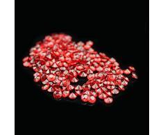 liying Acryl-Diamant, 0,8 cm, Acryl, rund, Konfetti, Diamant-Kristalle, für Tischstreuer, Vasenfüller, Kunst und Handwerk, Hochzeitsdekoration 0.3 inch Claret
