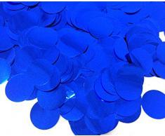 PepperLonely 30 g Tischkonfetti, glitzernd, runde Pailletten für Hochzeiten, Babypartys, Geburtstage, Partys, Dekorationen, Zubehör, 15 mm 7#. Blue
