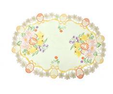 Bellanda 2861-35x50 oval Tischdecken Polyester, 50 x 35 x 0,50 cm, beige