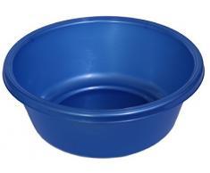 YBM Home 1148 Waschbecken, rund, Kunststoff, blau