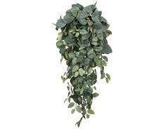 MICA Decorations 953440 Pilea Haenger L70B30H20 Kunstpflanze, Polyester, grün, 70 x 30 x 20 cm