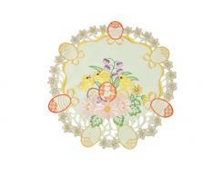 Bellanda 2861-30 rund Tischdecken Polyester, 30 x 30 x 0,50 cm, beige