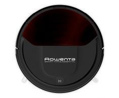 Rowenta RR6943 Smart Force Essential Saugroboter Roboter-Staubsauger (hohe Saugleistung auf allen Böden, Laufzeit: bis zu 150 Minuten, inklusive Fernbedienung, Ladestation und Magnetstreifen) schwarz