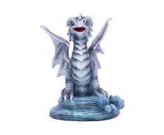 Nemesis Now Age of Small Rock Dragon Figurine Anne Stokes Figur Alter der Drachen, grau, Einheitsgröße