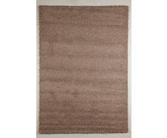 G & G Flora Carpets Shaggy/Torino Teppichläufer, Hardware Synthetik, Beige, 300 x 80 x 4 cm