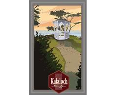 Northwest Art Mall mr-3727 RX kalaloch Lodge Pavillon 27,9 x 43,2 cm Print von Künstler Mike rangner