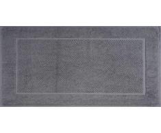 Maisonette Badteppiche 50x85 cm Silber/schwarz