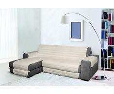Trendy Sofabezug mit Penisel 190 cm cremeweiß