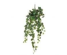 MICA Decorations Efeu Haengend gruen-l86cm Kunstpflanze, Polyester, grün 86 x 20 x 20 cm, 6-Einheiten