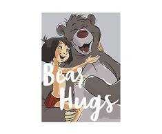 Disney Wandbild von Komar   Bear Hug   Kinderzimmer, Babyzimmer, Dekoration, Kunstdruck   Größe 30x40cm (Breite x Höhe)   ohne Rahmen   WB013-30x40