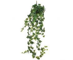 Mica decorations 1026614 Efeu Haengend - L129 cm Kunstpflanze, Polyester, grün, 129 x 29 x 29 cm