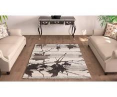 G & G Flora Carpets Modern Fashion/Gabeh Teppichläufer, Hardware Synthetik, Beige, 300 x 80 x 2 cm