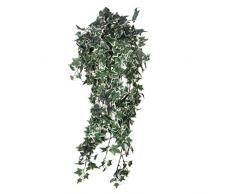 MICA Decorations 953281 Efeu L80B30H15 bunt Kunstpflanze, Polyester, Bunt, grün, 80 x 30 x 15 cm