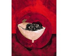 Unbekannt Neue imagesaffiche 40 x 50 cm Topf und Blumen/Topf and Flowers/J. A. Topf Blumen