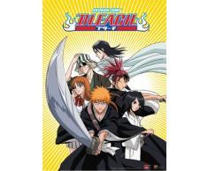 Great Eastern Entertainment Bleach Ichigo Team mit Byakuya und Rengi Wall Scroll, 33 von Blumenkasten