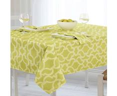Casual Living by Newbridge Sydney Indoor Outdoor Polyester Tisch Linens Casual 60x84 Oblong (Rectangle) Lime