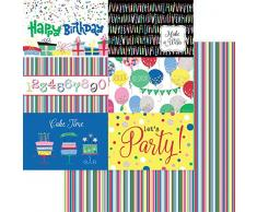 PHOTOPLAY CFT9609 Konfetti Papier 30,5 cm Geburtstag Happy Birthday
