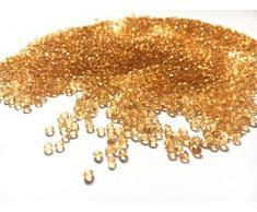 Liying shop Acryldiamanten künstliche runde Kristalle für Tischkonfetti, Tischstreuer, Vasenfüller, Kunst & Handwerk, Hochzeitsdekoration (2,5 mm), 10.000 Stück 2.5mm champagnerfarben