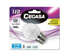 Cegasa LED Lampen mit Licht Kaltweiß 5000K, E275.4W, Weiß, 78x 45x 45cm