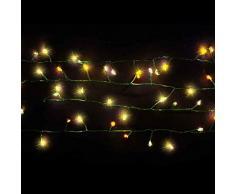 Luca Lighting dekorative Weihnachtsbeleuchtung, Metall, led warm weiß, 1250 x 0 x 0 cm, 5 Einheiten