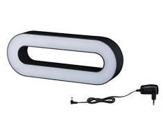 Paulmann 942.07 Outdoor Moval LED IP44 Warmweiß Diffus Acryl 94207 Aussenleuchte mit Akku tragbar Gartenbeleuchtung Mobil Terassenlicht
