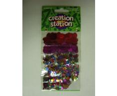 Creation Station glitzerndem Konfetti Fun Sortiment