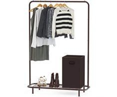 Simple Houseware Kleiderständer Bronze