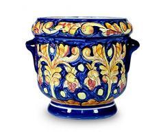 NOVICA 464.426,3 cm Royalty Keramik Blumentopf