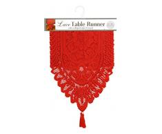 Ritz Tischläufer Lace Läufer 13 X 54 rot