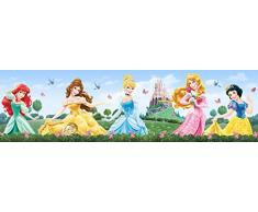 AG Design - Selbstklebende Bordüre - Disney Prinzessinnen - Kinderzimmer Bordüre - Wandbordüre - 0,14 x 5 m - WBD 8072