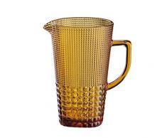 Cilio 290394 Karaffe, Glas, bernstein, 15,5 x 14,5 x 22,5 cm
