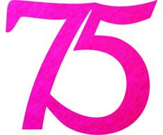 Petras Bastel-News A-GEF3375-35 Streudeko, Fliz, Pink, 18 x 12 x 3 cm