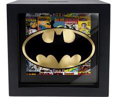 Spoontiques Batman Shadowbox Bank, Schwarz