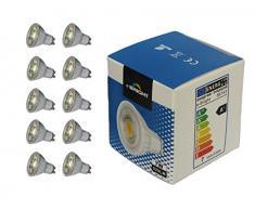 e-Bright A plus LED Lampen Glas, 7 W, GU10, 50 x 56 mm, natur 86127
