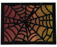 American Crafts 319949 Heidi Swapp 10268595 Schablone zum Halloween Kit Spinnennetz Laterne