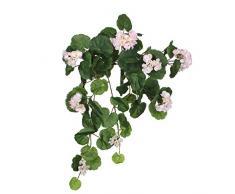 Mica decorations 1005425 Geranium - L63 cm Kunstpflanze, Polyester, 63 x 24 x 24 cm