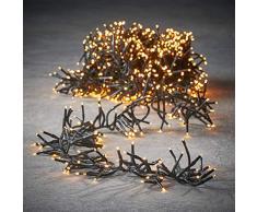 luca lighting Cluster Light Weihnachtsbeleuchtung, PVC, warm weiß, 970 Zentimeter