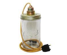 Ma Gartenhaus Stadt Gold M Lampe Topf Glas gold M