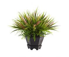 Nearly Natural Fast natürliches 6892 38,1 cm Gras mit Übertopf