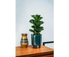 Ivyline Blumentopf, Keramik, smaragdgrün, 24 cm
